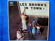 "Les Brown's in Town - 12"" LP - Offered from a private record collection"