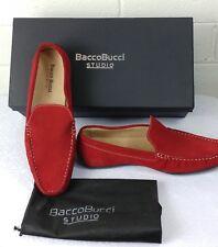 "MEN'S BACCO BUCCI STUDIO SHOES Size 8.5M""PLAYA""Suede Genuine Leather Upper nwb"