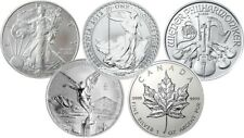999 Silver 1oz Bullion Coins Maple Leaf Britannia Australian Lunar and many more