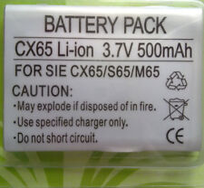 BATTERY PACK FOR SIEMENS CX65 S65 M65 Li-ion 3.7V 500mAh