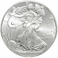 (1) 1/10 Ounce .999 Pure Silver BU Round ☆ Walking Liberty Type ☆ Free Shipping