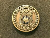 RARE NYPD 5 STAR COMMISSIONER JAMES O'NEILL CHALLENGE COIN