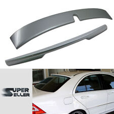 PAINTED W203 For Mercedes Benz L ROOF WING + SPOILER REAR C TYPE TRUNK COMBO
