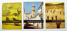 1958 BRUSSELS EXHIBITION Ignacio Aldecoa Nieves de Hoyos Spanish Pavilion 3 bks