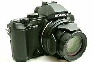Olympus Stylus Stylus 1 12.0MP Digital Camera *Black *Mint