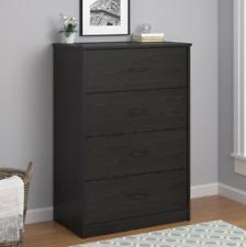 NEW 4-Drawer Modern Mainstays Dresser Chest Bedroom Storage Wood Furniture