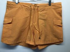 NWT Steve & Barry's Women Orange Shorts size 12