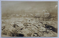 VTG Old Real Photo Postcard RPPC View Main St. Gaysville, Vermont After Flood