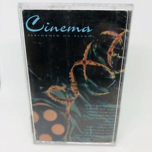 Cinema: Performed on Piano Chrome Cassette Various Artists