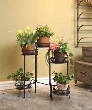 Dipamkar ® 5 niveles plegable metal Jardinera Maceta Casa Jardín Balcón