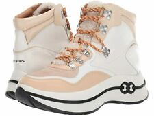 Tory Burch Gemini Link Platform Hiking Wedge Boots Women's US Size 8