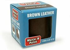 MATCH 'n Patch Realistic Brown Leather Repair Tape Mnp-2000