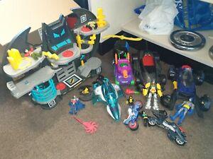 Bat Man Toy + Play Set