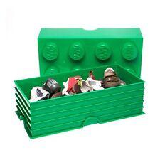 LEGO almacenaje Verde ladrillo Dormitorio Infantil Juguete Almacenamiento NUEVO
