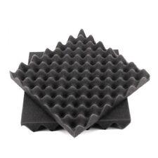 10 Stk Selbstklebend Dämmmatte Noppenschaumstoff Akustikschaumstoff 50X50X4cm