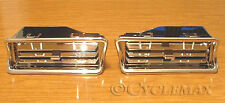 GOLDWING GL1800 Chrome Upper Vents (52-684) MADE BY SHOW CHROME
