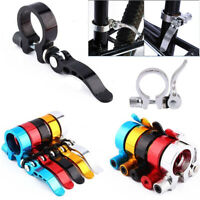 31.8mm//34.9mm MTB Bicycle Cycling Saddle Bicycle Seat Post Clamp Aluminum Alloy