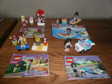 Lego Friends 30101, 30103, 30105, & 41000  4 Complete sets