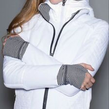 LULULEMON FLEECY KEEN JACKET COAT III WHITE SIZE 2 *NWT*  SOLD OUT IN STORES