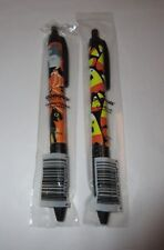 Set of 2 Halloween SNIFTY Scented Ballpoint Pens ~ Candy Corn, Scaredy Cat ~ NEW
