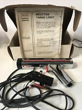 Vintage Sears Craftsman Inductive Timing Light With Box And Manual No161213400