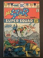 All Star Comics #58 First Printing DC Comic Book. First Powergirl!