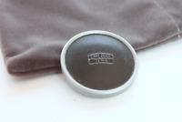 EX & VINTAGE Carl Zeiss Jena 37mm Lens Cap - Black Top, Crackle Finish, Red Felt