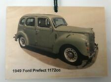 Ford Prefect 1949 - Photograph on Wood (105 x 148mm)