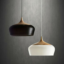 Nordic Simple Wood Style Pendant Light Hanging Lamp Suspension Chandeliers