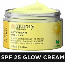 Moisturising Nuray Naturals Vegan Day for Whitening And Brightening Women