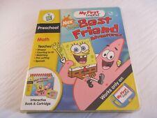 LeapFrog:My First LeapPad Educational Book:SpongeBob SquarePants Best Friend,NEW