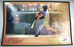 NITF! Vintage ☆ Board Mounted NIKE Poster ☆ Hitting Machine ☆ Tony Gwynn Padres