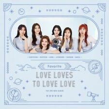 Favorite-[Love Loves To Love Love] 2nd Mini Album CD+Booklet+PhotoCard KPOP