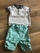 Boy Top And Shorts Size 2-3