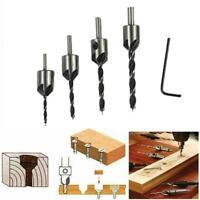 7 pcs Drill Bit Steel #45 HSS Drill 4241 3-10mm Carpentry Tool