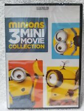 Minions: 3 Mini Movie Collection Illumination (Dvd, 2016 Widescreen) New Sealed
