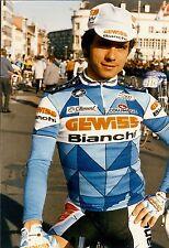 Cyclisme, ciclismo, wielrennen, radsport, PERSFOTO'S GEWISS 1987