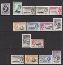 FALKLAND ISLANDS DEPENDENCIES  EARLY QEII COLLECTION LIGHTLY/NEVER HINGED MINT
