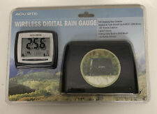 New AcuRite Wireless Digital Rain Gauge 00896 Measure Track Rainfall
