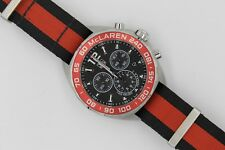 Tag Heuer CAZ1112.FC8188 Formula 1 NATO Watch Mens Chronograph Black Red McLaren