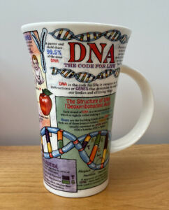 Dunoon DNA Large Fine Bone China Mug - Designed by Caroline Dadd
