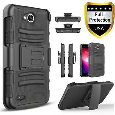 For LG X Venture H700 Phone Case, Armor Belt Clip Cover