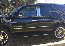 2007-2014 Cadillac Escalade/EXT/ESV 4Pc Chrome Pillar Post Stainless Steel Trim