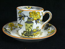 Mason's Ironstone Antique Asian Art Coffee Cup and Saucer