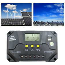 12V-24V 80A Solar Laderegler LCD Solarpanel Controller Regulator Solarregler USB