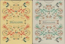 Blossom Playing Cards 2 Deck Set Poker Size Deck USPCC Custom Limited Edition