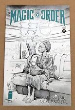 Magic Order #2 Coipel B&W Variant (2018, Image Comics) - NM