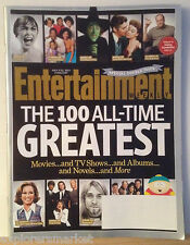 ENTERTAINMENT WEEKLY EW MAGAZINE 100 All Time Greatest Psyco Wizard of Oz R