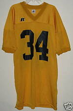 Flag Football Practice Jersey Gold All #'s NCAA State