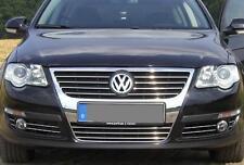 VW Passat B6 3C 3M Chromleisten Zierleisten für Kühlergrill Nebelscheinwerfer